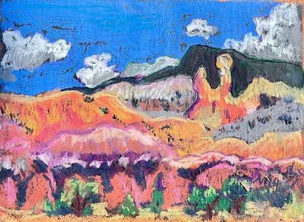 pastel-sketch-painting